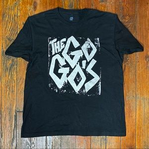 (2016) Go Go's Band Graphic T-Shirt